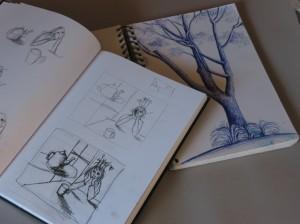 Recent Sketch Books